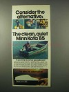 1980 Minn Kota 85 Outboard Motor Ad - Alternative