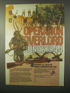 1980 Iver-Johnson Ad - U.S. M1 Carbine D-Day Rifle