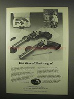 1980 Dan Wesson Revolvers Ad - That's My Gun!