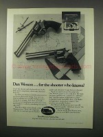 1980 Dan Wesson Revolvers Advertisement - Shooter Who Knows