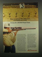 1980 Redfield Target Scope Ad - From 385 to 500 Meters