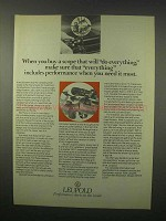 1980 Leupold Scopes Ad - Will Do Everything