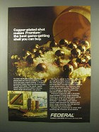 1980 Federal Ammunition Ad - Copper-Plated Shot