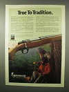 1980 Browning BBR Rifle Ad - True to Tradition