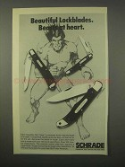 1980 Schrade Uncle Henry Knife Ad - 194 OT 18 OT 125 OT