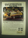 1980 Oldsmobile Cutlass Cruiser Station Wagon Ad