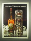 1979 E&J Brandy Ad - The Spirit of Christmas Present