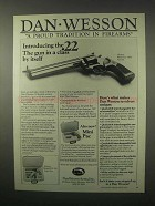 1979 Dan Wesson Model 22-VH8 Revolver Ad - Proud