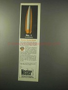 1979 Nosler Solid Base Bullets Ad - No. 1 in Accuracy