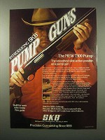 1979 SKB 7300 Pump Shotgun Ad - Smoothest
