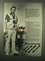 1979 Redfield Scopes Ad - Expensive Rifles