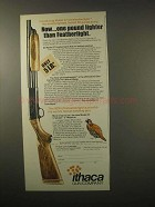 1979 Ithaca Gun Model 37 Ultrafeatherlight Shotgun Ad