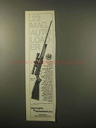 1979 H&R Model 700 Deluxe Rifle Ad - Auto Loader