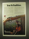 1979 Browning BBR Rifle Ad - True to Tradition