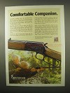 1979 Browning BL-22 Rifle Ad - Comfortable Companion