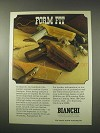 1978 Bianchi Holsters Ad - Form Fit