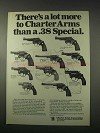 1978 Charter Arms Ad - Undercover, Pathfinder, Bulldog