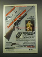 1978 Daisy PowerLine 922 Rifle Ad - Johnny Unitas