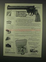 1978 Dan Wesson 15-2VH8 Revolver Ad - Best Ever