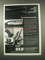 1978 SKB XL-900 Automatic Shotgun Ad - Just Compare