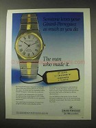 1984 Girard-Perregaux Watch Ad - Someone Loves