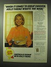 1984 Holly Farms Chicken Ad - Dinah Shores