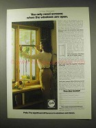 1984 Pella Casement Windows Ad - Screens When Open