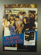 1984 Players Cigarettes Ad - Players Go Places