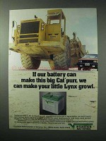 1984 Interstate Batteries Ad - Make This Big Cat Purr