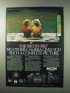 1984 Ricoh XR-7 Camera Ad - Such a Complete Picture