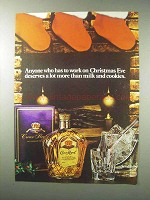 1984 Seagram's Crown Royal Whisky Ad - Christmas Eve