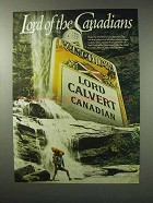 1984 Lord Calvert Canadian Whisky Ad