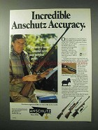 1984 Anschutz Model 1422 Classic Rifle Ad - Accuracy