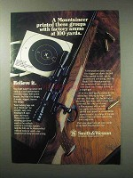 1984 Smith & Wesson Model 1500 Mountaineer Rifle Ad