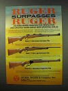 1984 Ruger Rifle Ad - 77 International Bolt-Action +
