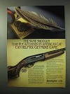 1984 Remington Model 1100 Shotgun Ad - Feather in Cap