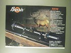 1984 Burris 4x-12x Mini Scope Ad