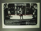 1984 War and Peace Opera Ad - Norman Bailey