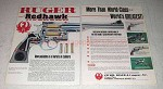 1984 Ruger Redhawk Revolver Ad - World's Greatest!