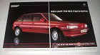 1984 MG Maestro 2.0 Efi Car Ad - Light Red Touch Paper