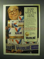 1983 Valvoline Motor Oil Ad - Hurry You Want Gold Medal