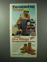 1983 Red Wings Boots Ad - 404, 1212, 2221, 104