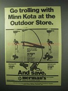 1983 Minn Kota #65B, #565 and #86B Motor Ad