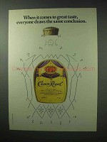 1983 Seagram's Crown Royal Whisky Ad - Conclusion