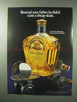 1983 Seagram's Crown Royal Whisky Ad - Cheap-Skate