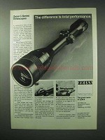 1983 Zeiss C-Series Riflescopes Ad - Total Performance