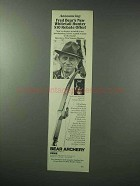 1983 Bear Archery Whitetail Hunter Bow Ad