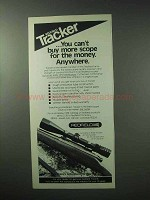 1983 Redfield Tracker Scope Ad - More For the Money