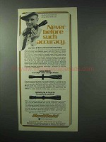 1978 Redfield Scopes Ad - Never Before Such Accuracy