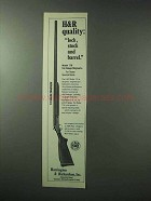 1978 Harrington & Richardson Model 176 Shotgun Ad